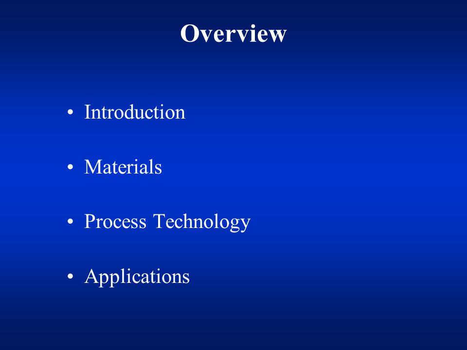 Current Composite Materials and Processes