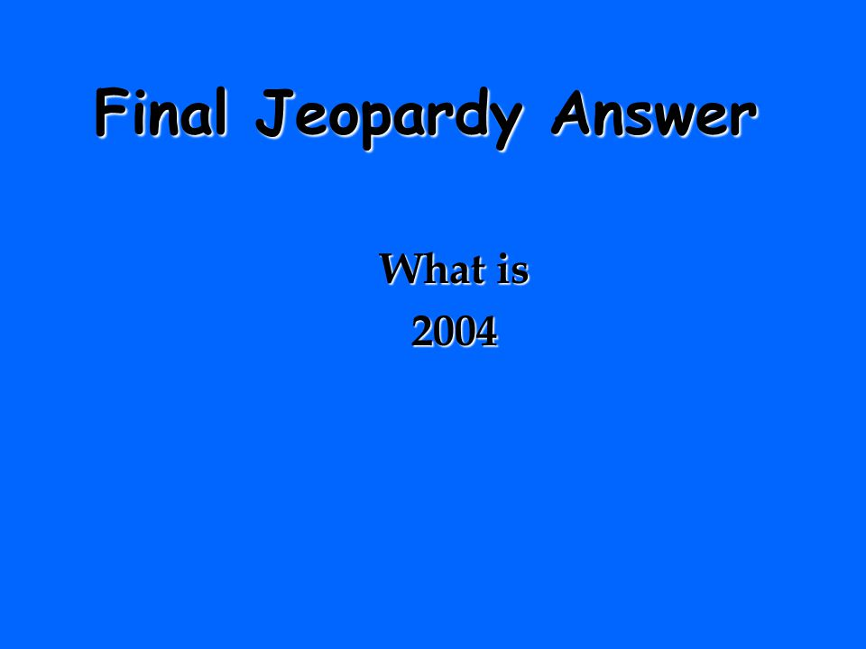 Final Jeopardy Question The year New Jersey stopped issuing NJ laminated paper licenses to a digital format