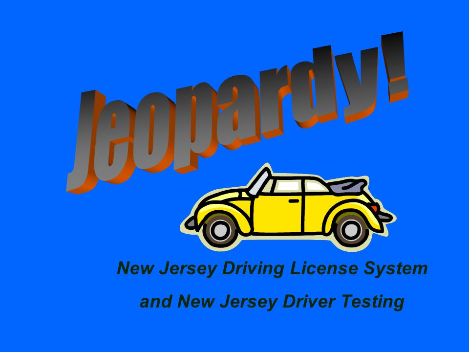 Types of NJ Driver License Types of NJ Driver License $100 Answer What is Class D