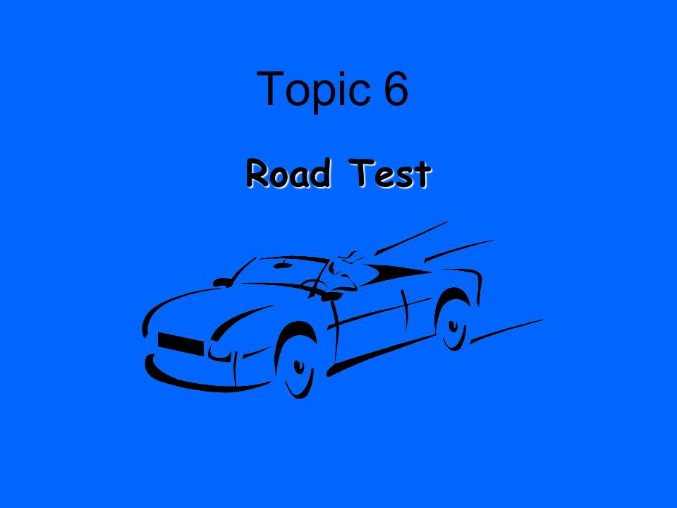 Topic 5 Graduated Driver License