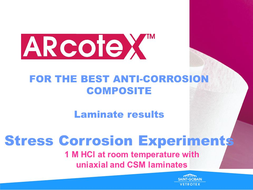 FOR THE BEST ANTI-CORROSION COMPOSITE Stops time!