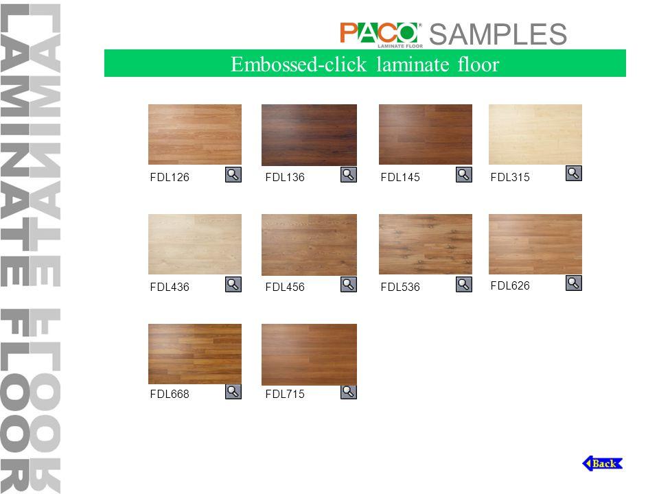 SAMPLES FDL126FDL136FDL315 FDL436FDL456 FDL626 Embossed-click laminate floor FDL668 FDL145 FDL536 FDL715