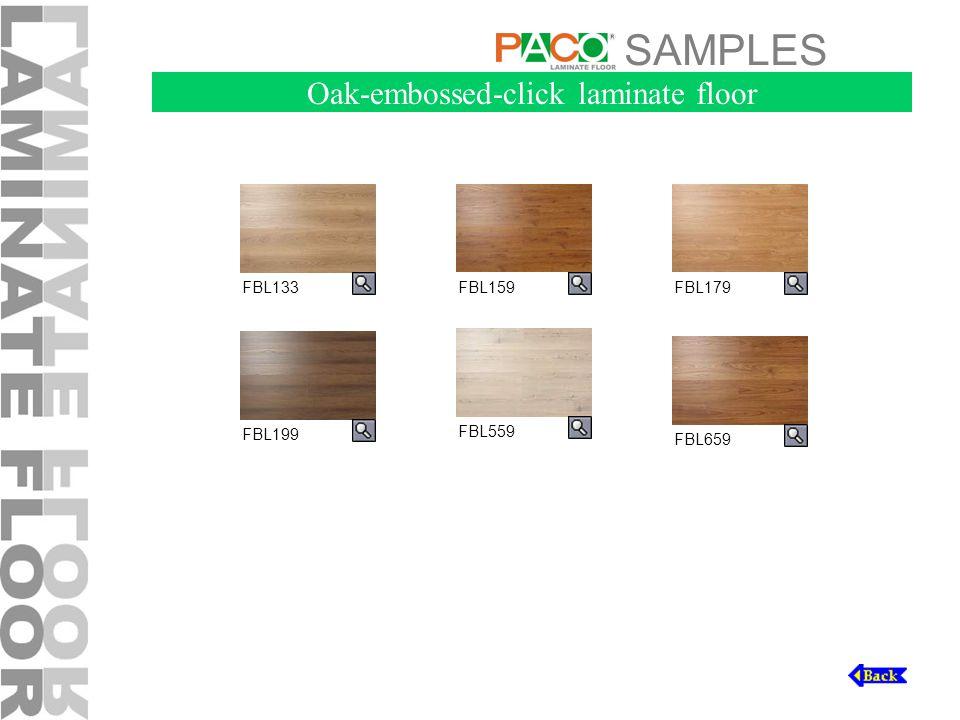 SAMPLES FBL199 FBL133FBL159FBL179 FBL559 FBL659 Oak-embossed-click laminate floor