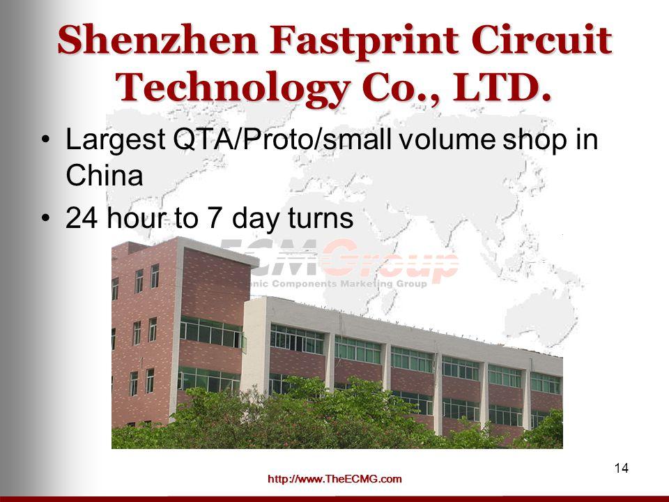 http://www.TheECMG.com 14 Shenzhen Fastprint Circuit Technology Co., LTD.
