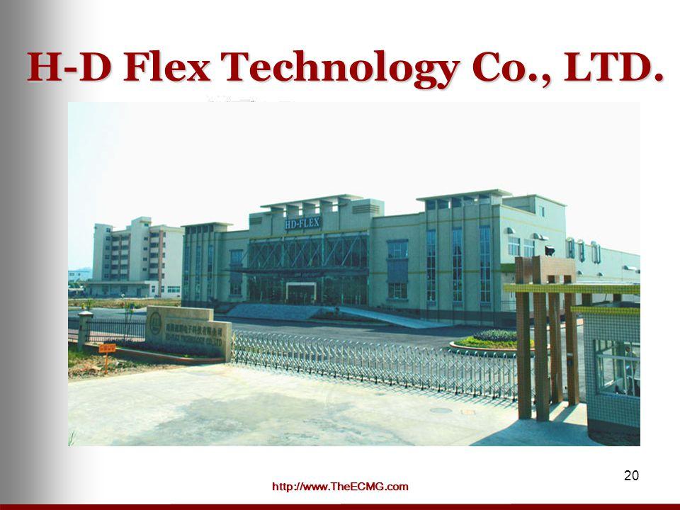 http://www.TheECMG.com 20 H-D Flex Technology Co., LTD.