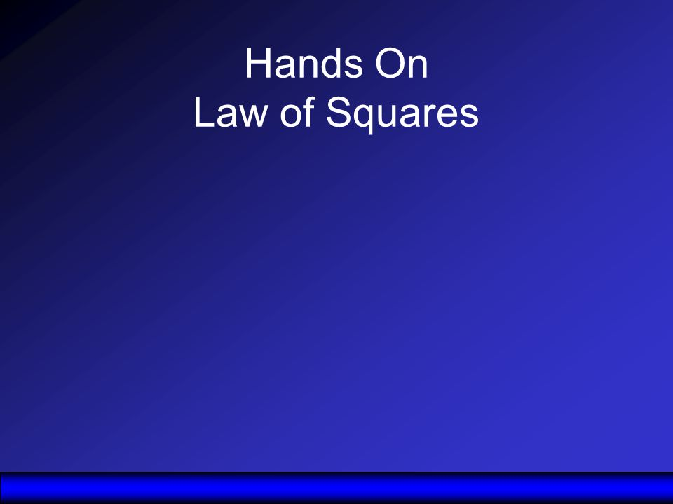 Hands On Law of Squares
