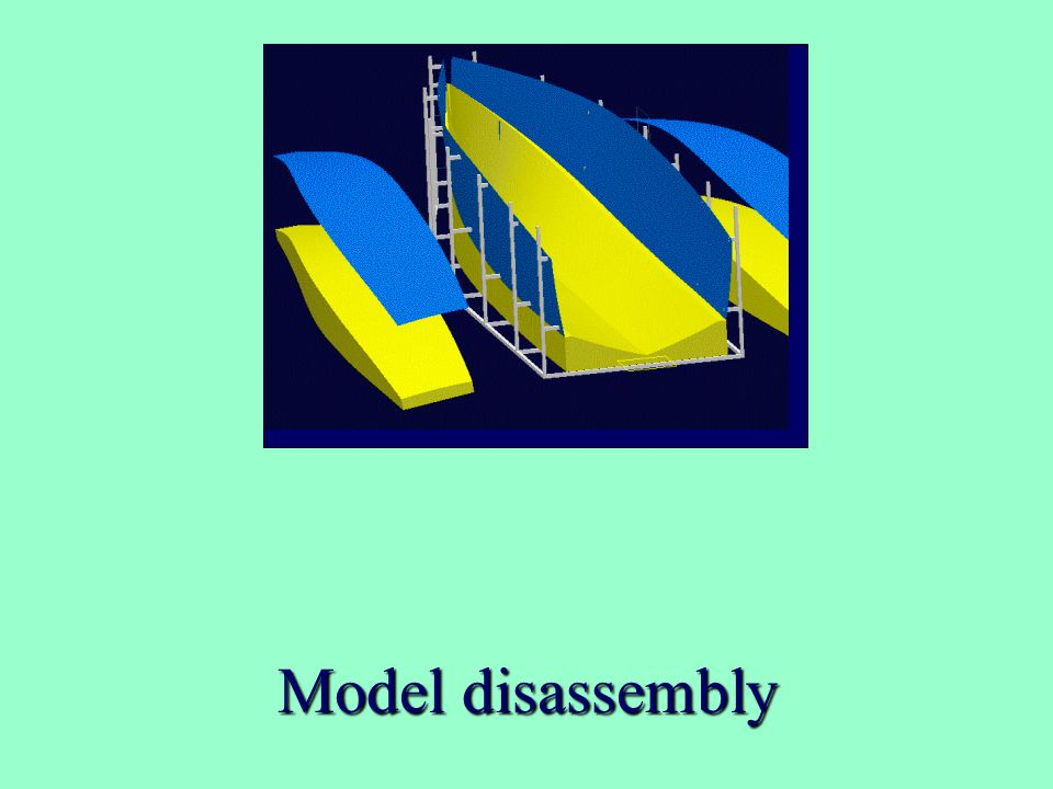 Model disassembly