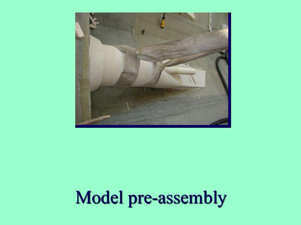 Model pre-assembly