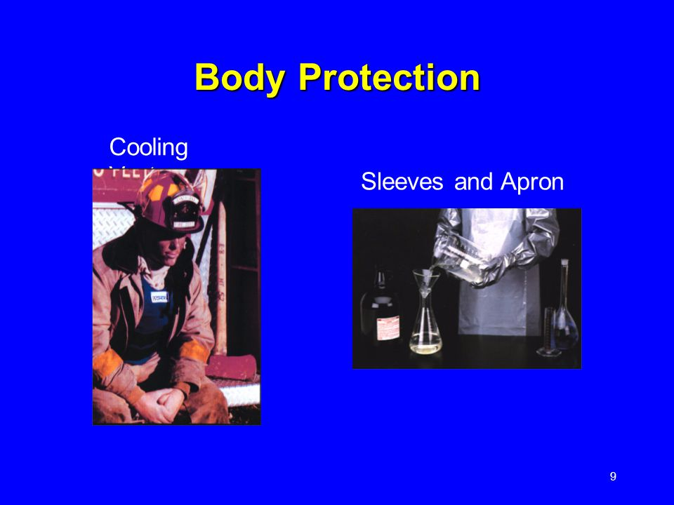 9 Cooling Vest Sleeves and Apron Body Protection