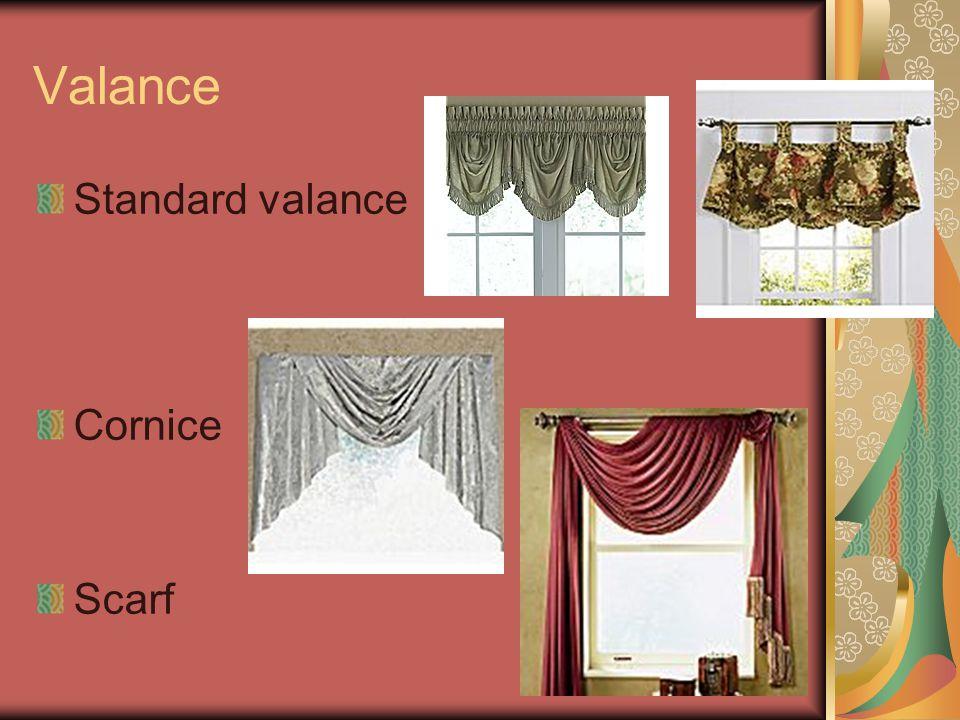 Valance Standard valance Cornice Scarf