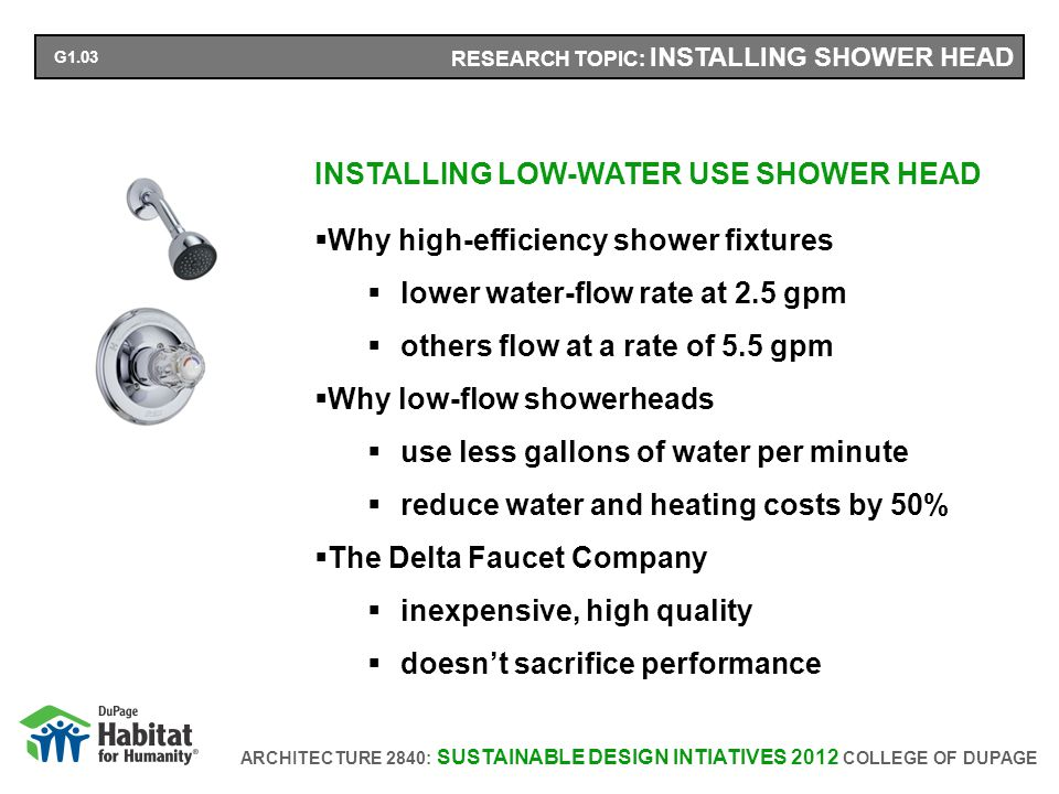 ARCHITECTURE 2840: SUSTAINABLE DESIGN INTIATIVES 2012 COLLEGE OF DUPAGE RESEARCH TOPIC: REPLACING TOILETS REPLACING TOILETS WITH HIGH EFFICIENCY TOILETS Why water sense labeled toilets save $2,000 over the lifespan of the toilet save approximately 4,000 gallons of water per year Why the Windham toilet function and style significant water-savings dependable performance.
