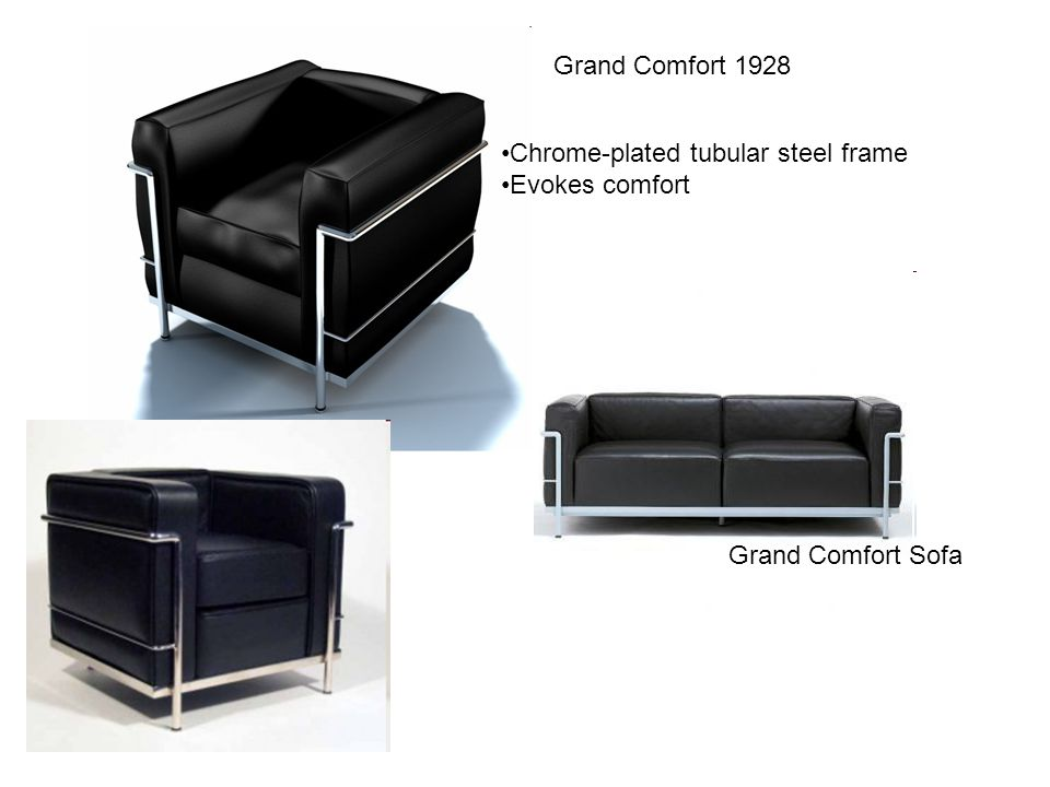 Siège Tournament 1929 Upholstered swivel chair Made of tubular steel Centre Le Corbusier, Zürich, Switzerland