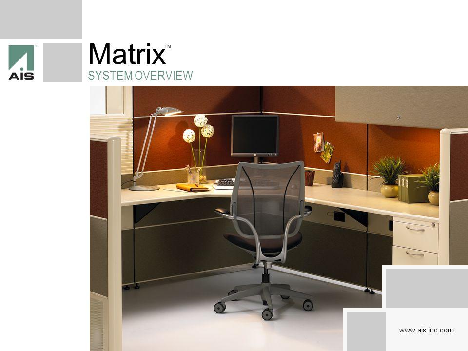 Matrix SYSTEM OVERVIEW Full Frame Tile Based Stacking Panel System www.ais-inc.com