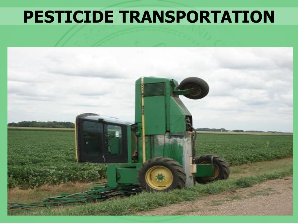PESTICIDE TRANSPORTATION