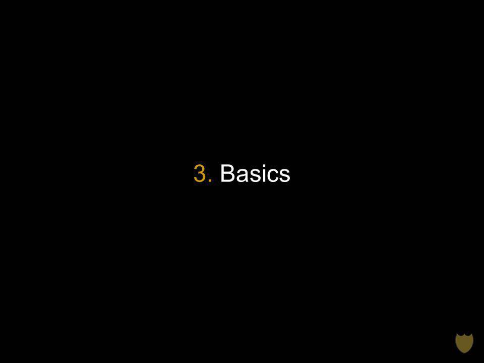 3. Basics
