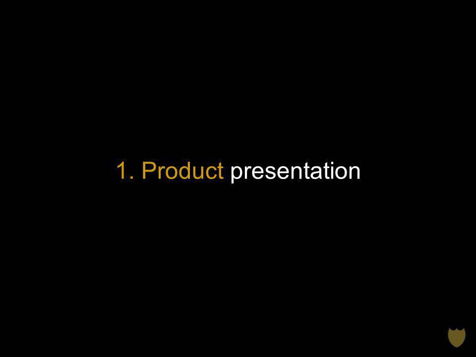 1. Product presentation