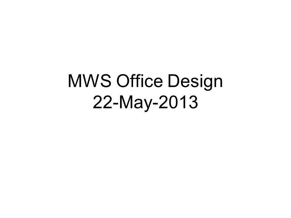 MWS Office Design 22-May-2013