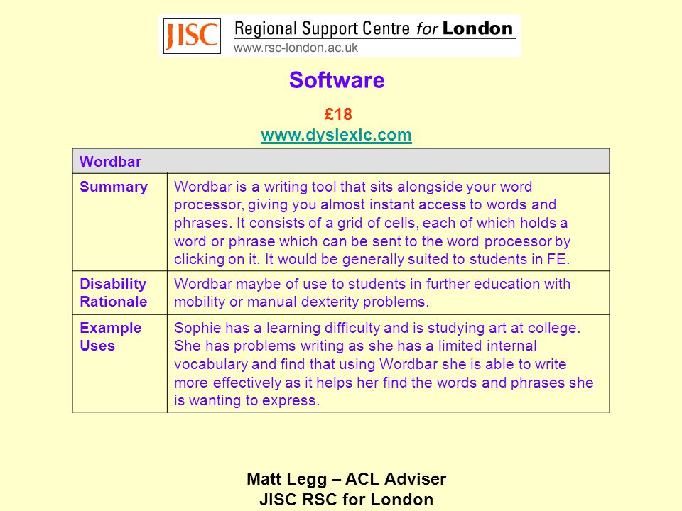 Matt Legg – ACL Adviser JISC RSC for London Low Technology Dycem Sheets SummaryNon-slip matting such as the Dycem sheets provides a safe surface on which to place objects that might otherwise be easy knock or displaced.