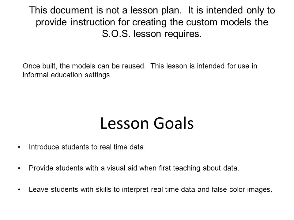 Introduce students to real time data Provide students with a visual aid when first teaching about data.