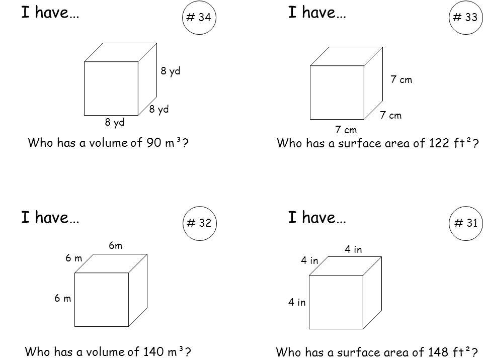 Who has a volume of 462 cm³.Who has a volume of 40 cm³.