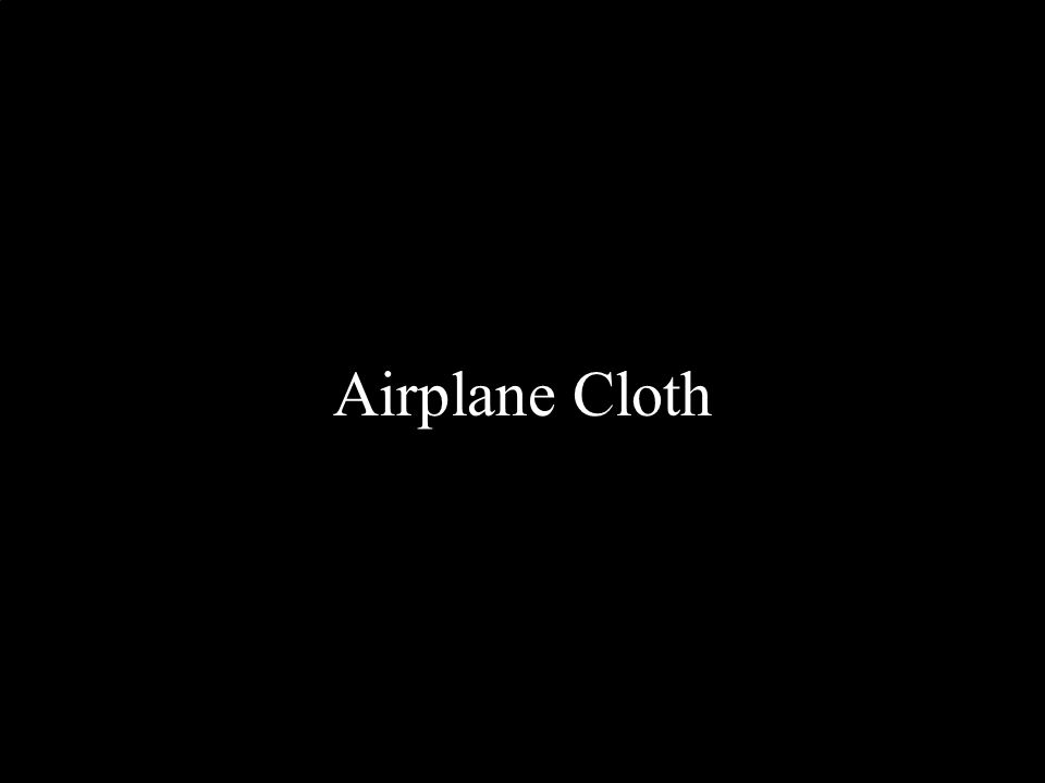 Airplane Cloth