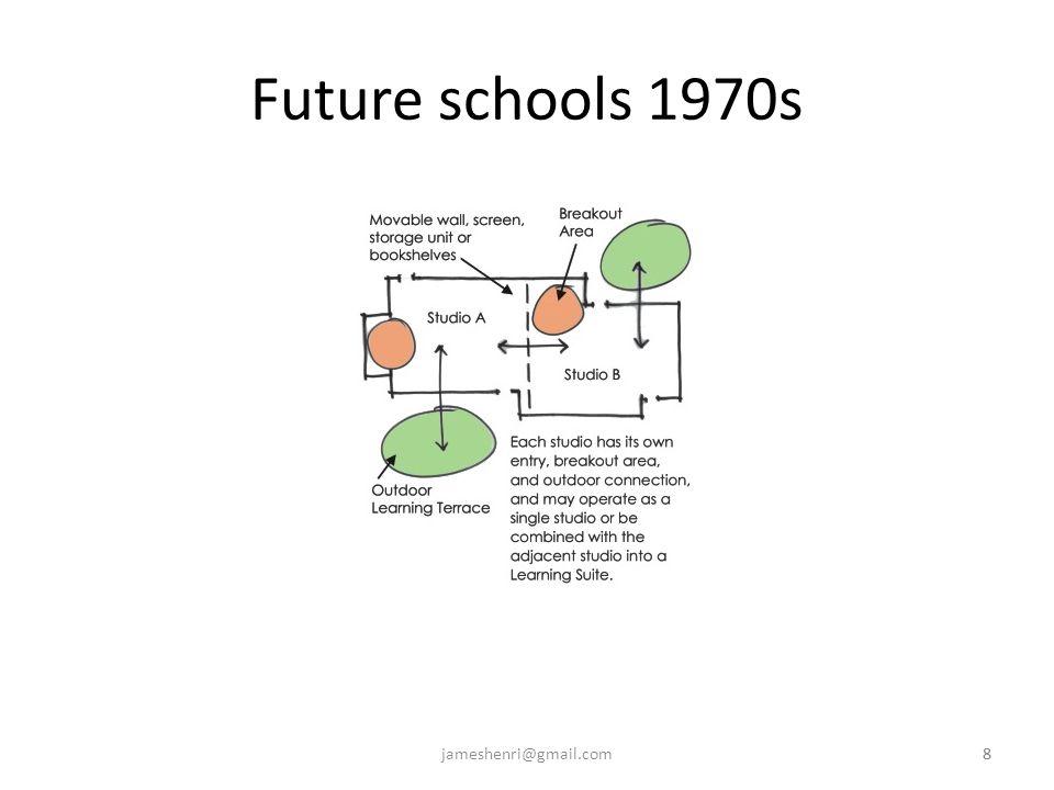 8jameshenri@gmail.com8 Future schools 1970s