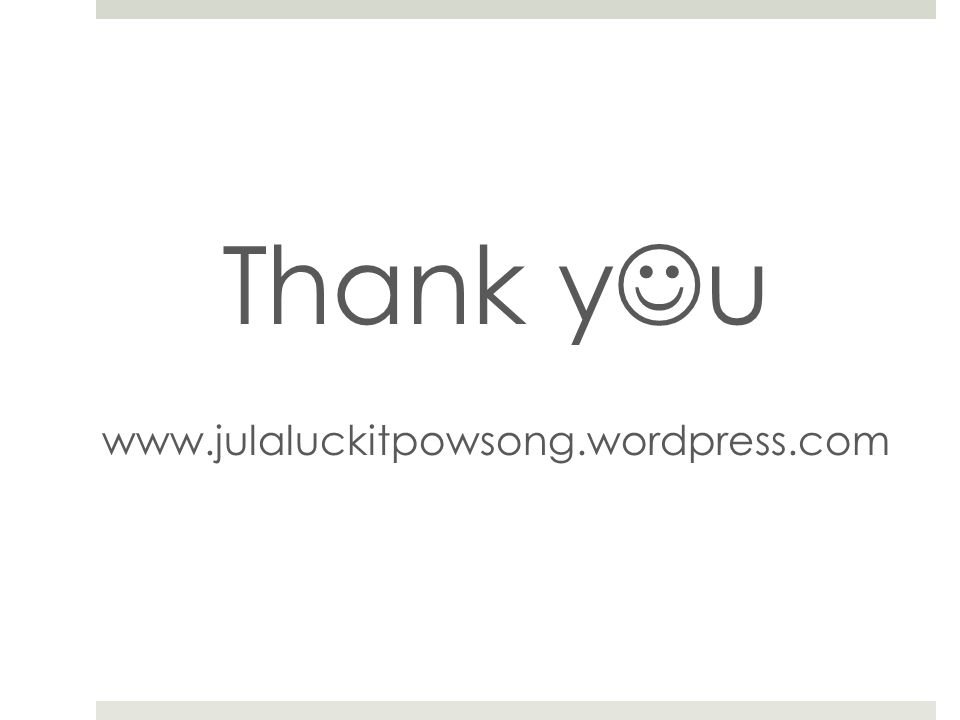 Thank y u www.julaluckitpowsong.wordpress.com