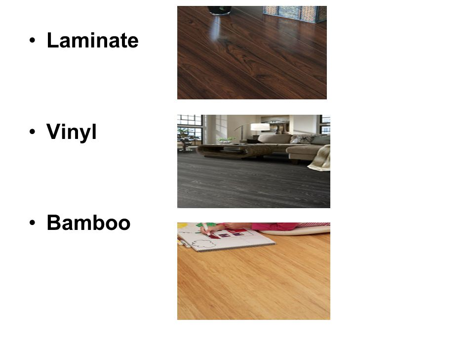 Laminate Vinyl Bamboo