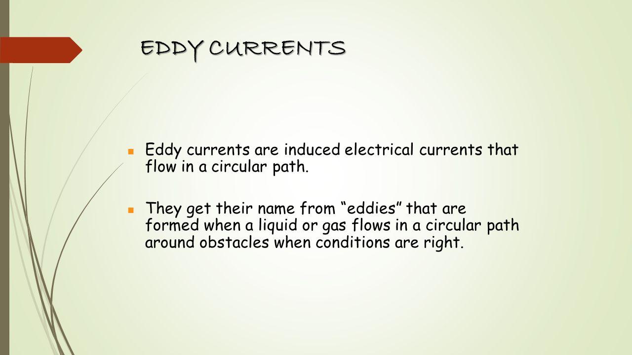 Test Probe Eddy Currents