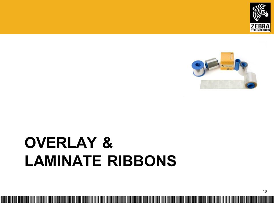 OVERLAY & LAMINATE RIBBONS 10