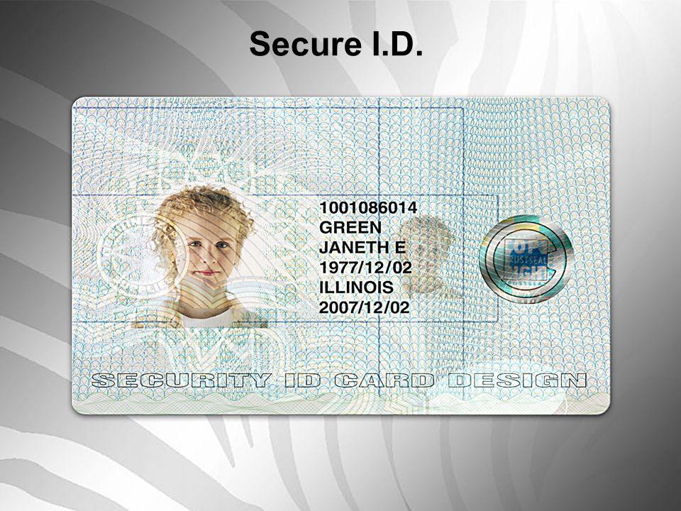Secure I.D.