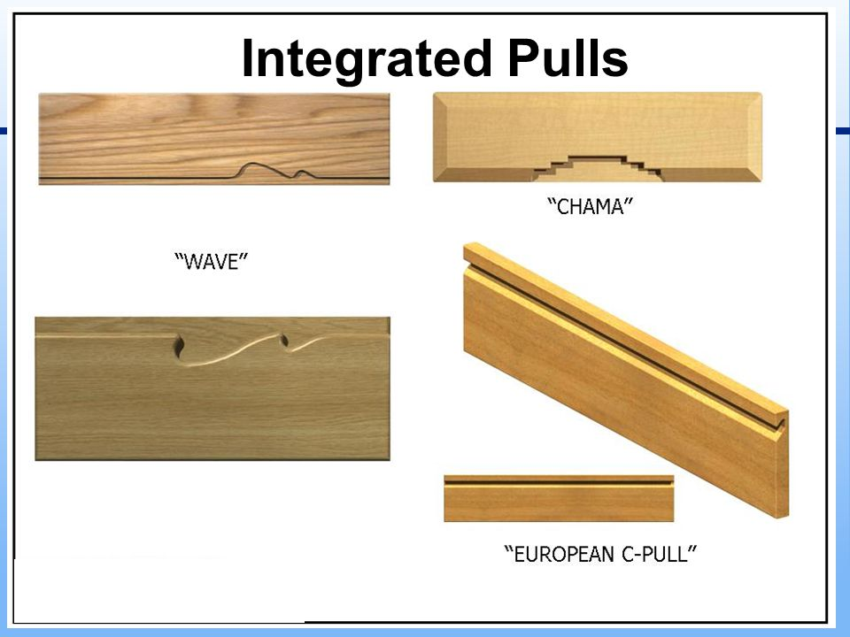 Integrated Pulls