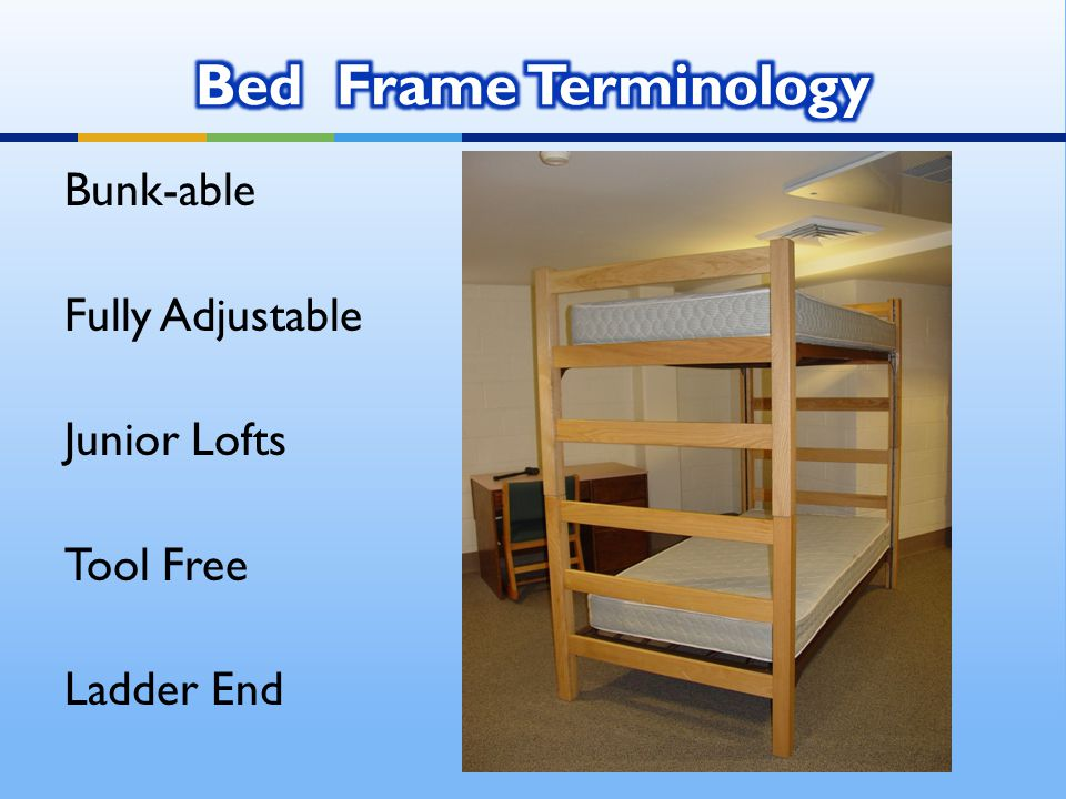 Bunk-able Fully Adjustable Junior Lofts Tool Free Ladder End