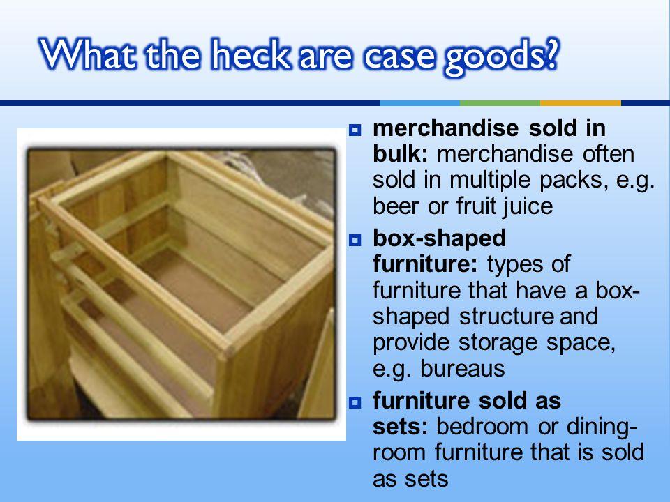 merchandise sold in bulk: merchandise often sold in multiple packs, e.g.