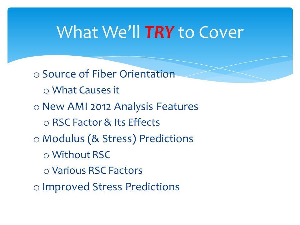 Presented by Robert Sherman Senior CAE Analyst, RTP Company rsherman@rtpcompany.com Thank You!
