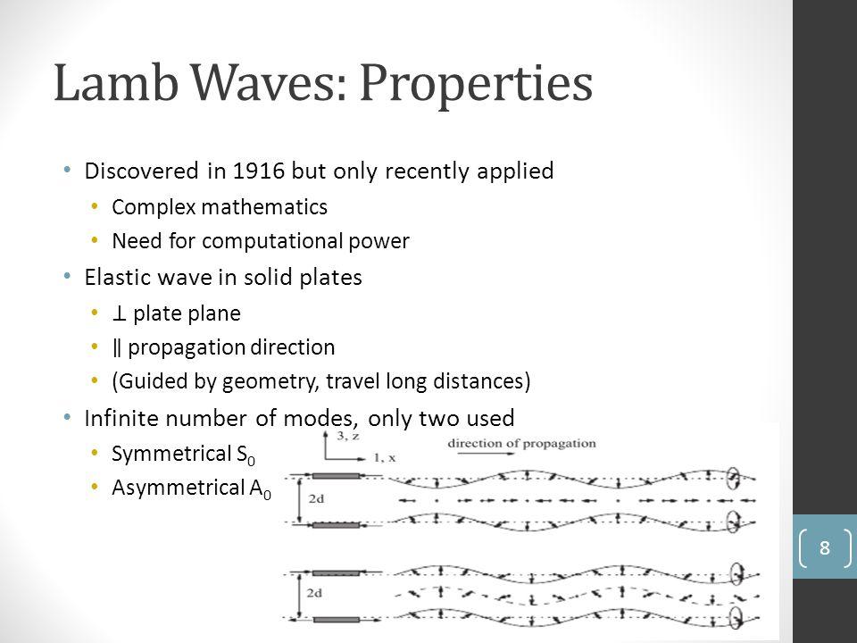 Lamb Waves: Properties 8