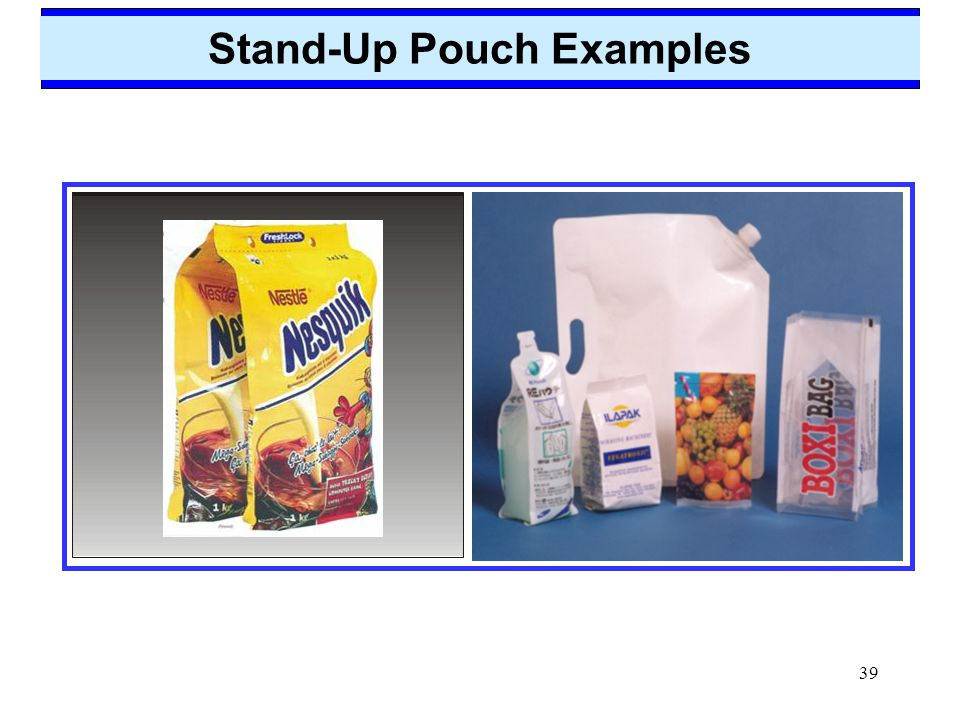 39 Stand-Up Pouch Examples