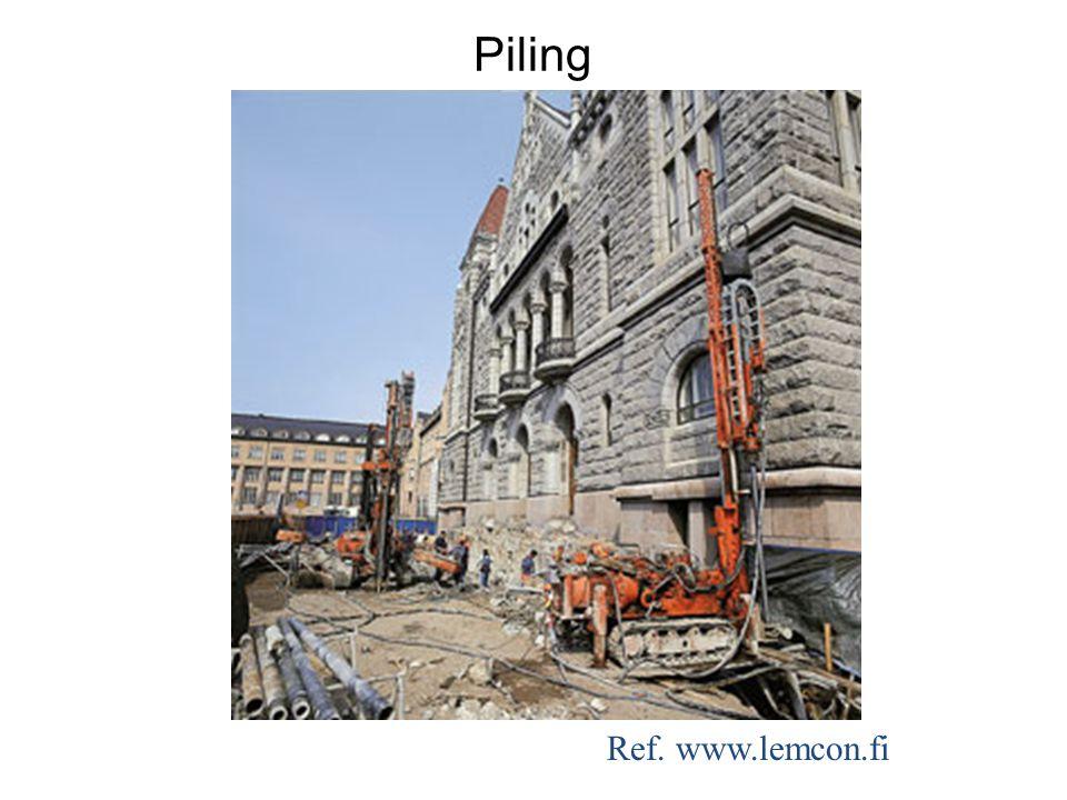 Ref. www.lemcon.fi Piling