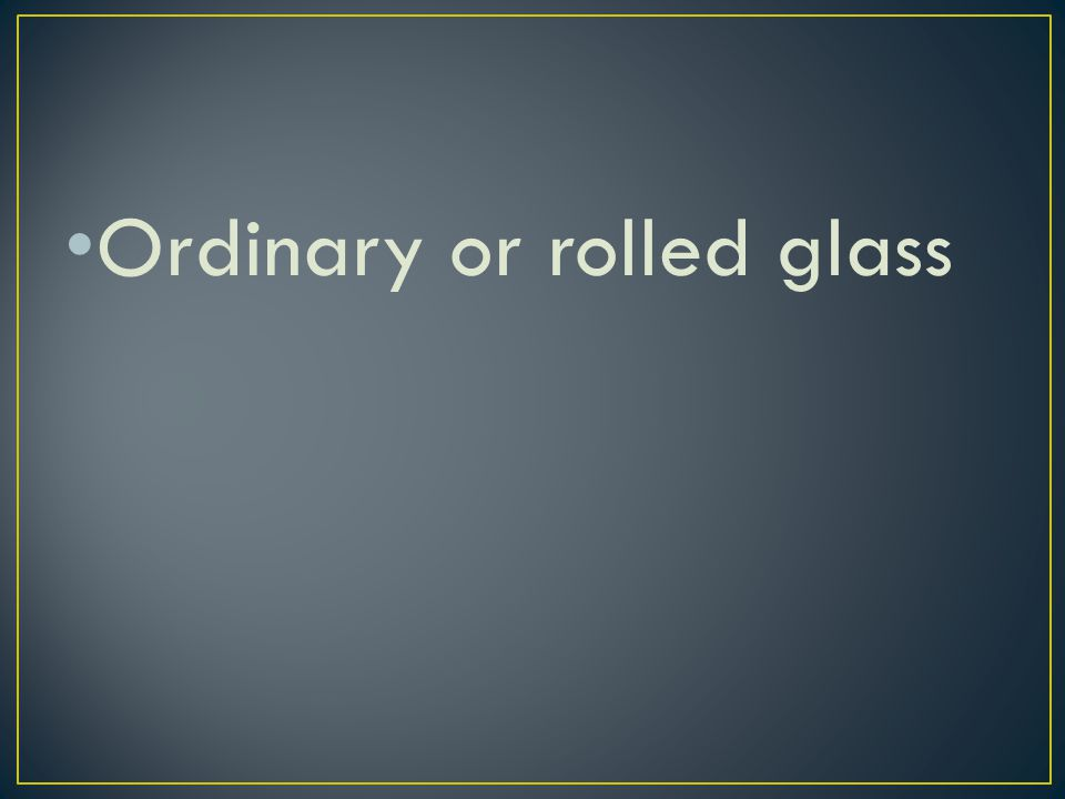 True or False All broken glass at a crime scene must be collected, regardless of the size.