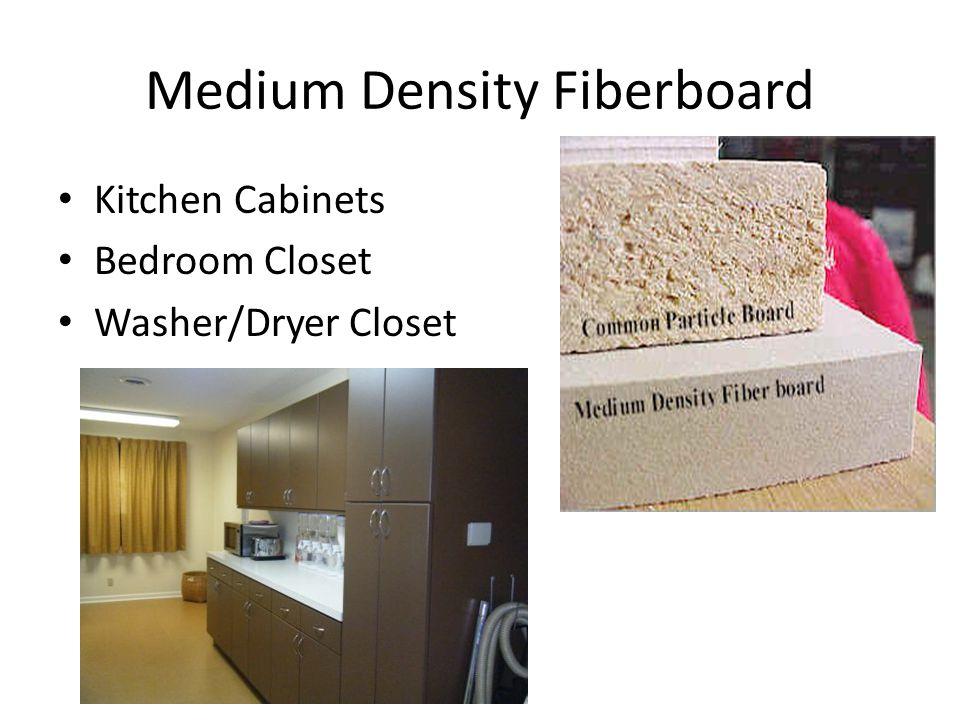 Medium Density Fiberboard Kitchen Cabinets Bedroom Closet Washer/Dryer Closet
