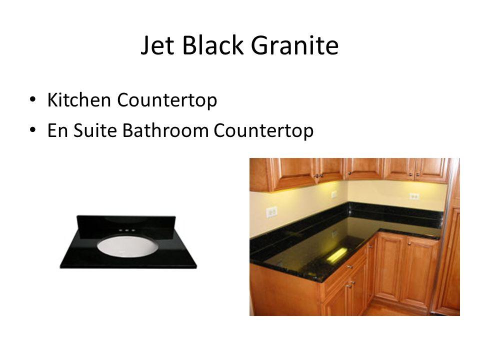 Jet Black Granite Kitchen Countertop En Suite Bathroom Countertop