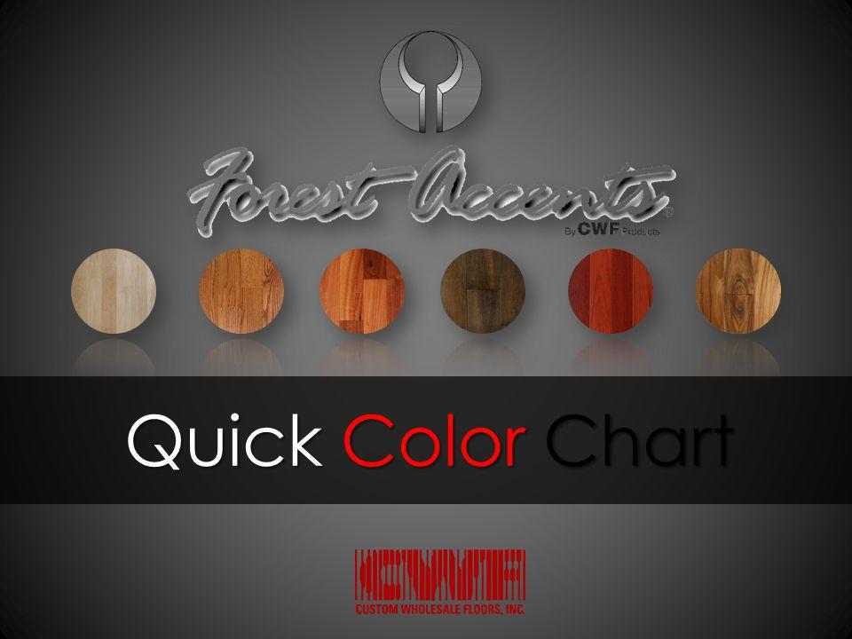 Quick Color Chart Quick Color Chart