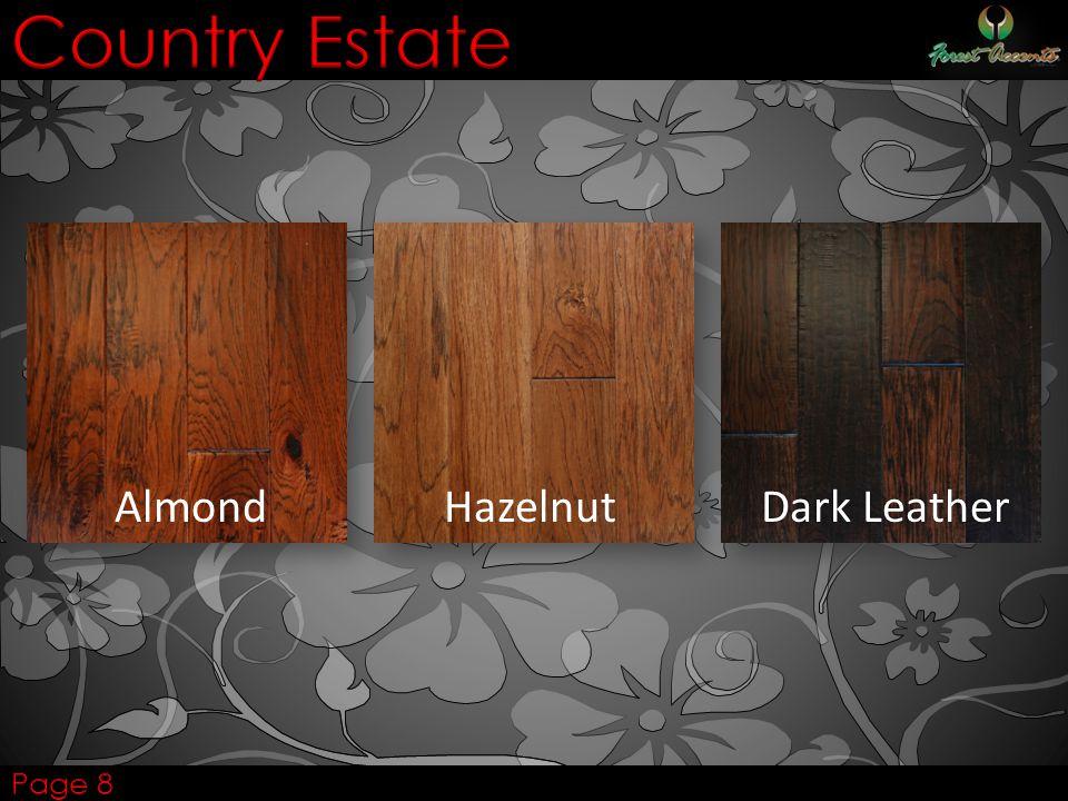 AlmondHazelnut Dark Leather