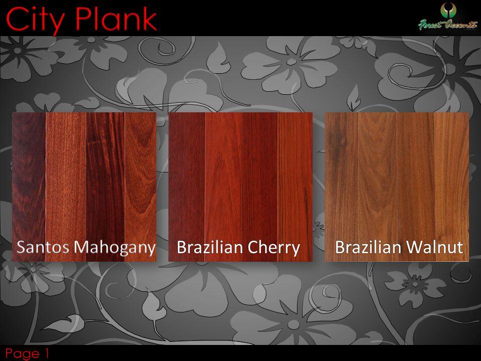 Brazilian Cherry Brazilian Walnut