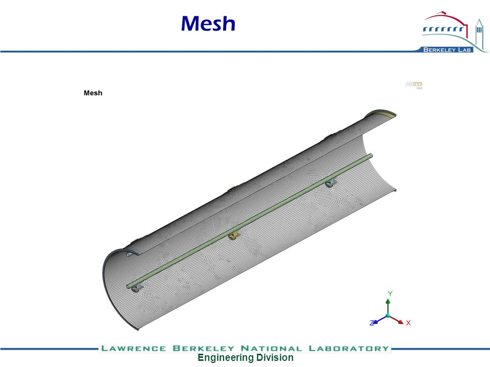Engineering Division Mesh, mount pad