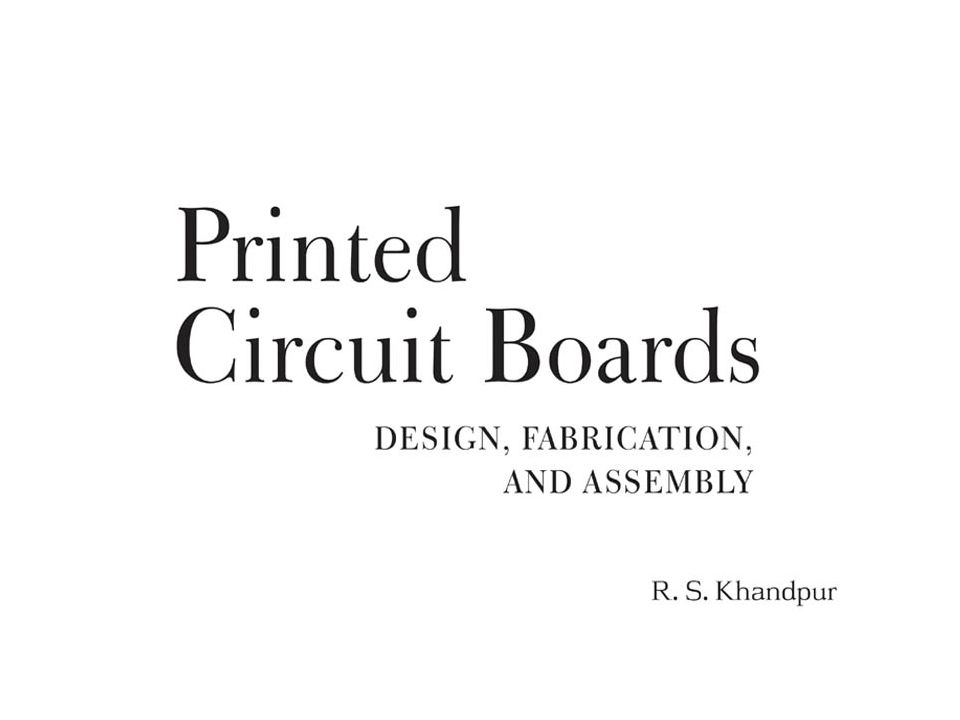CH.1 Basics of Printed Circuit Boards Printed circuit boards are used to provide the mechanical basis on which the circuit can be built Eng.Mohammed Alsumady