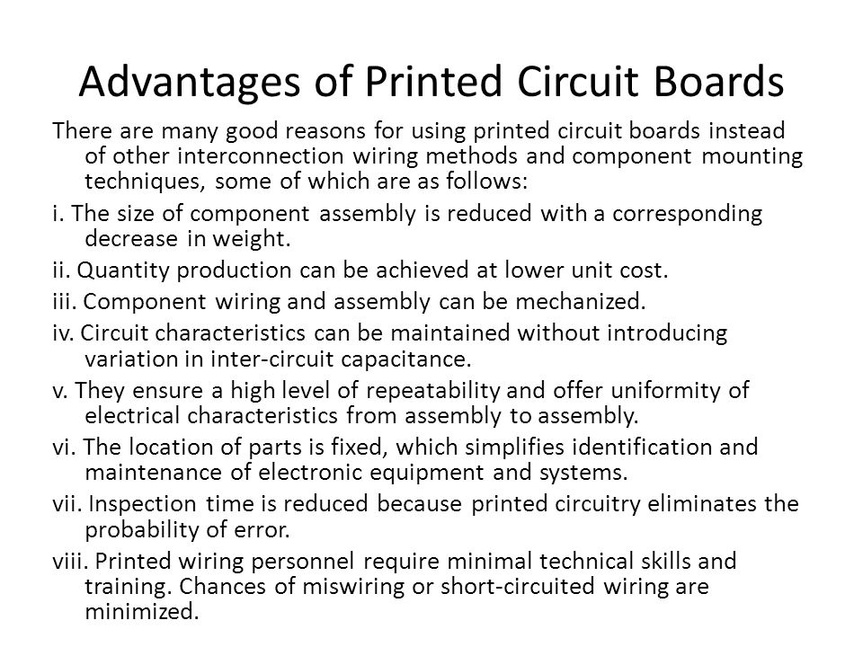 Evolution of Printed Circuit Boards The history of development of printed circuit boards is not very old.