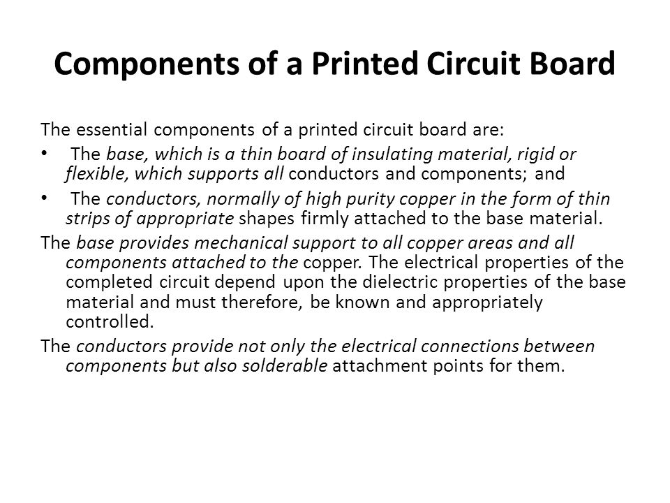 Classification of Printed Circuit Boards Printed Circuit Boards were traditionally divided into three classes according to their use and applications, and were commonly referred to as consumer, professional and high reliability boards.