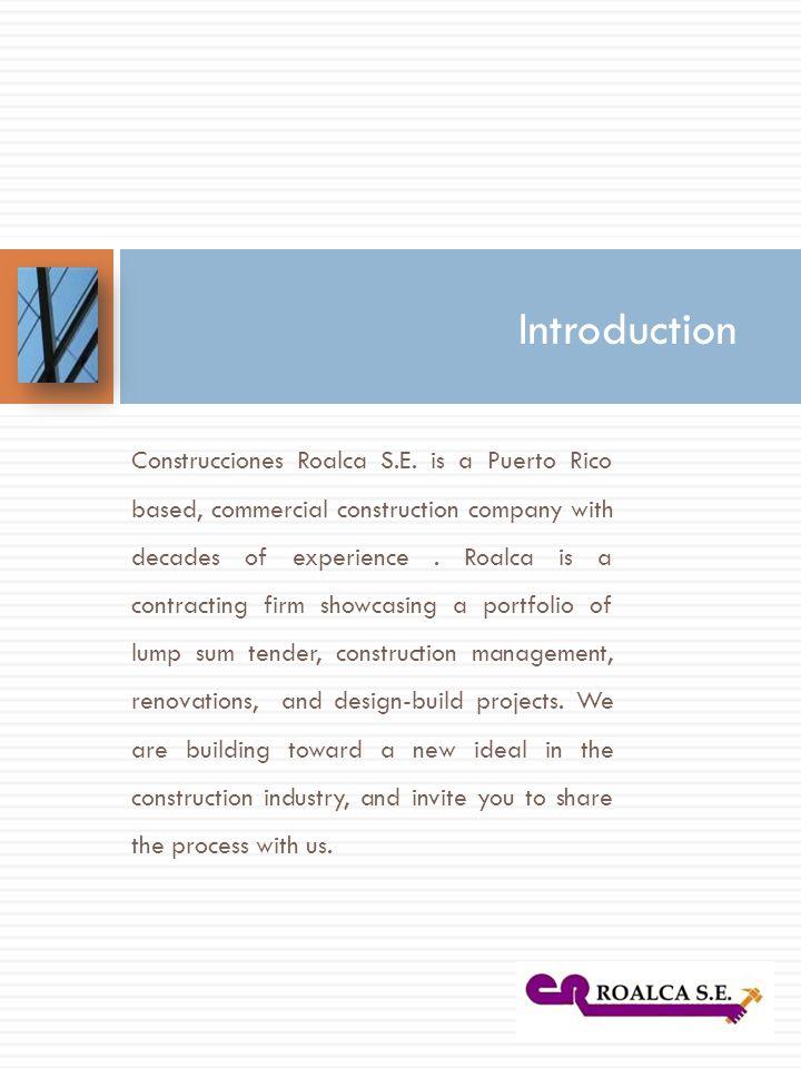 Construcciones Roalca S.E.