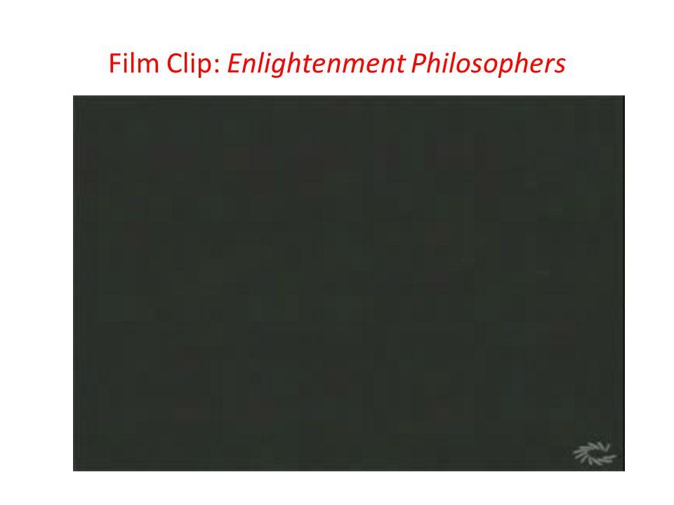 Film Clip: Enlightenment Philosophers
